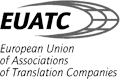 EUATC - European Union of Associations of Translations Companies